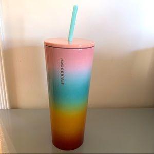 Starbucks rainbow tumbler